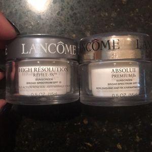 Other - Lancôme absolue day cream & High resolution cream